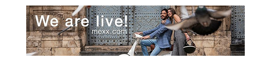 Our new Mexx webshop is live!