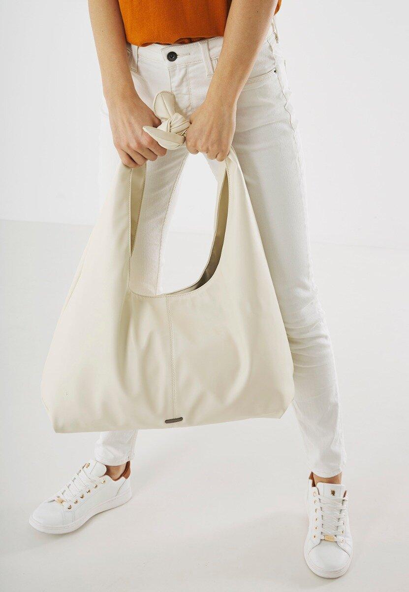 Grote Tas Gebroken Wit