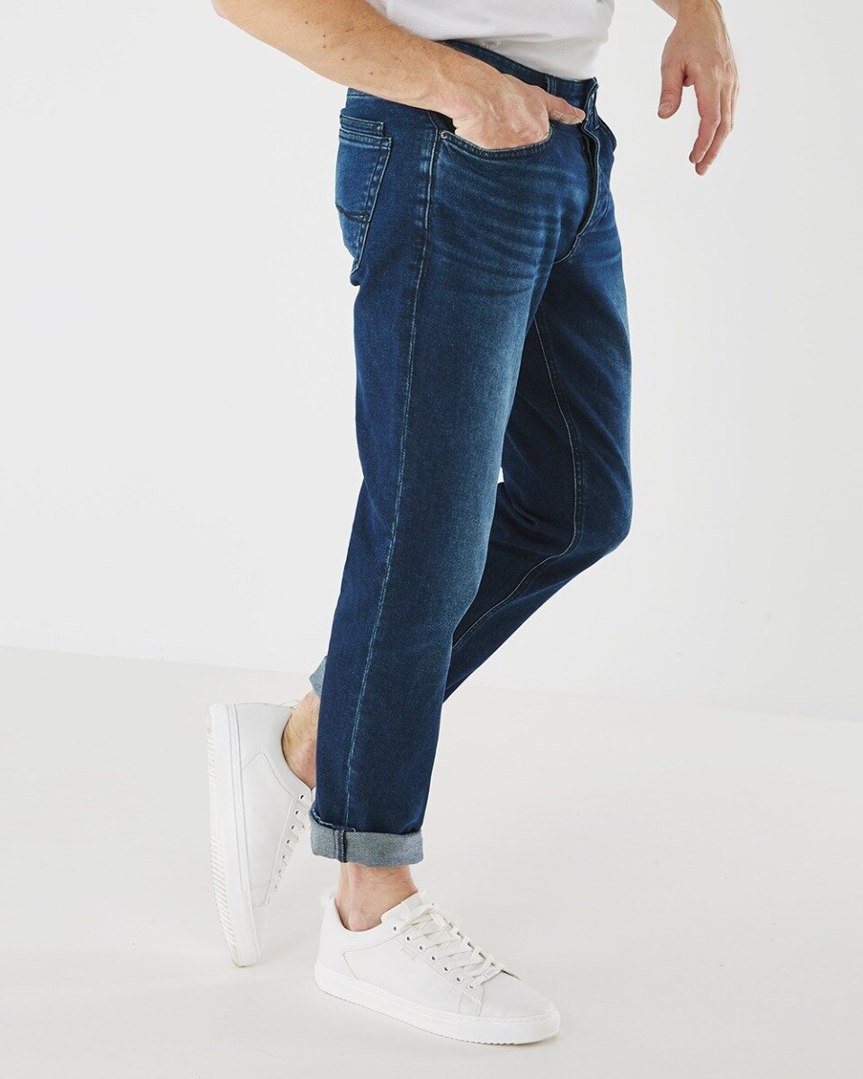 Jeans Logan donkere wassing