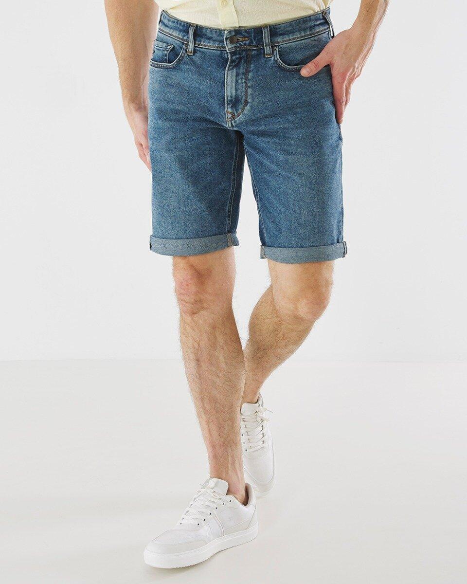 Korte jeans Steve medium wassing