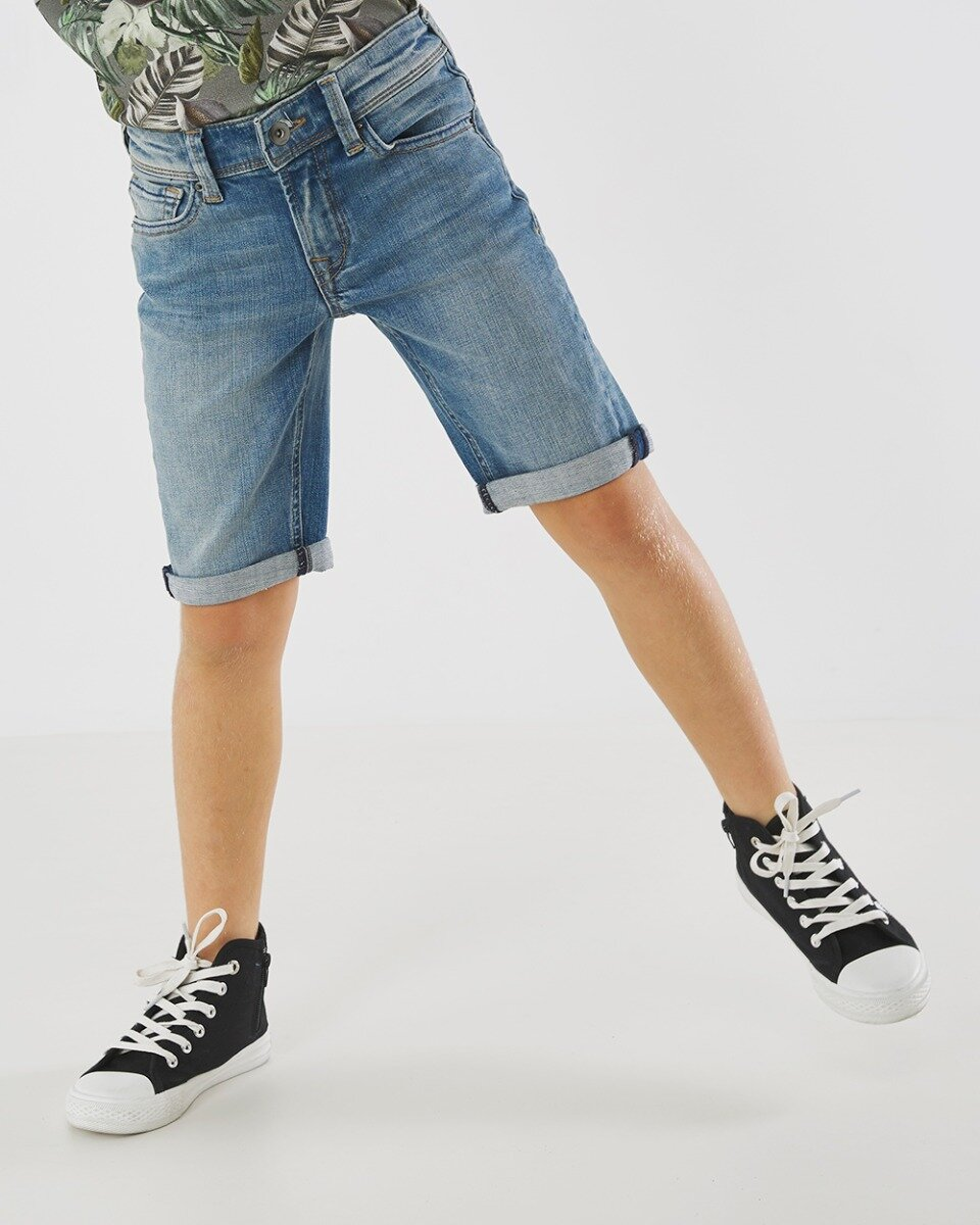 Korte Jess Jeans Vintage Wassing