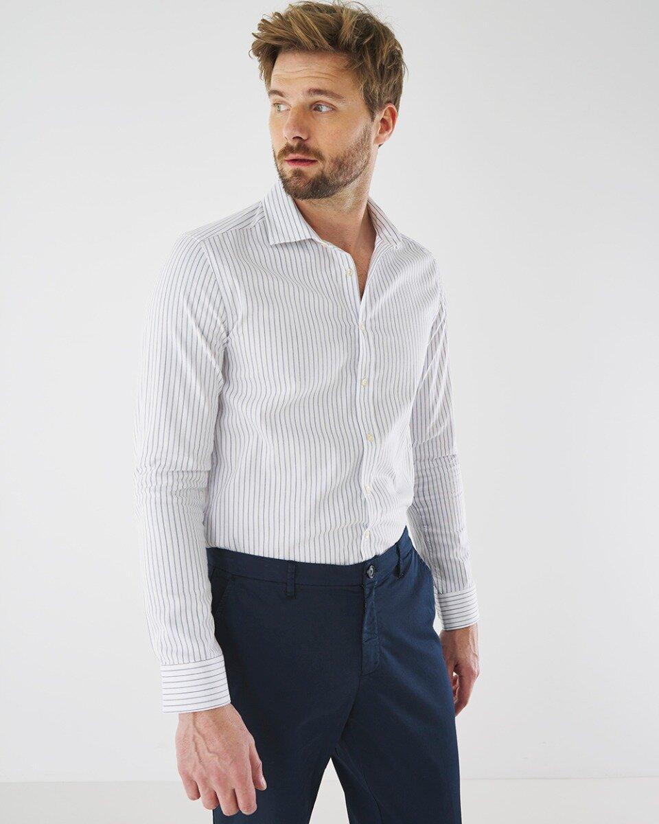 Overhemd Adam Wit