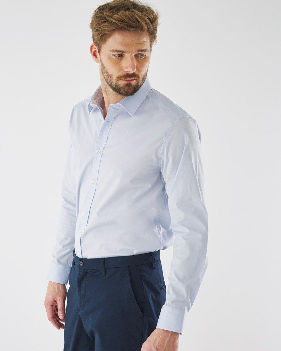 Overhemd Adam Lichtblauw