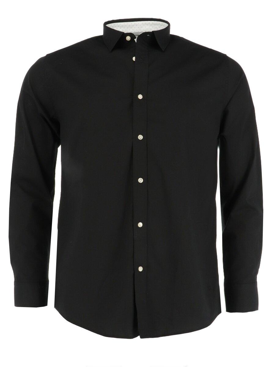 Overhemd Adam Zwart