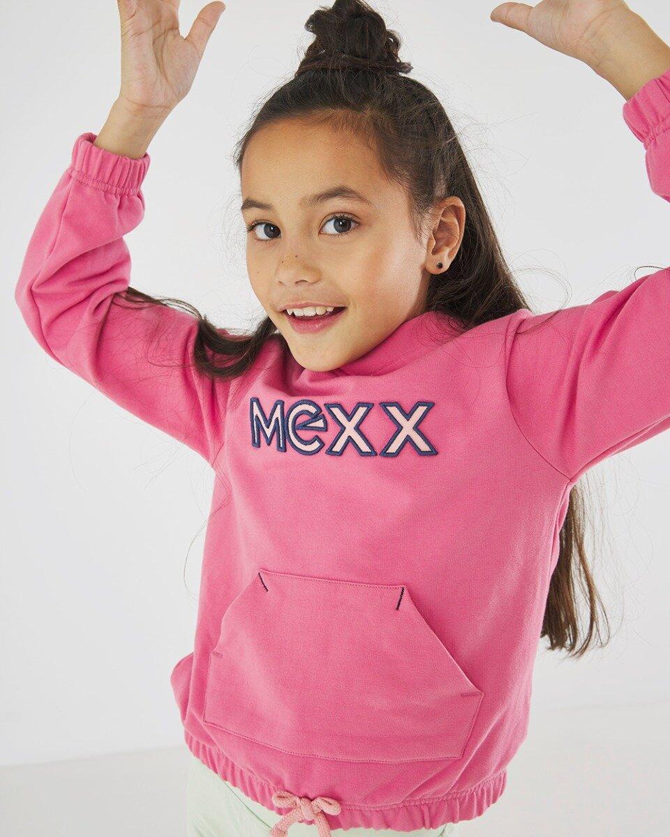 Vest met capuchon roze
