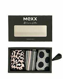 Women-socks-gift-box-multi-print-pink-/-grey