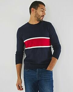 Basic-Round-Neck-Sweater-Navy