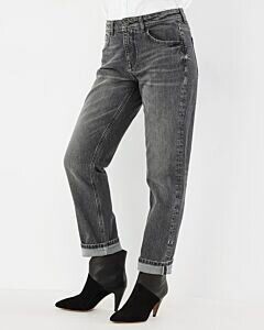 Jeans Ina Straight Fit Vintage Grey