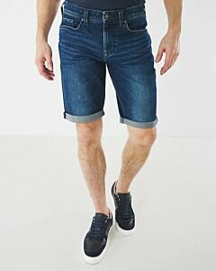 Denim-shorts-Steve-dark-used