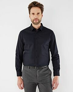 Adam Shirt Long Sleeve Black