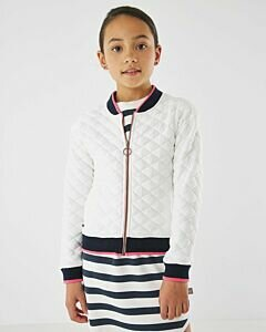 Mexx Cardigan off white with black borders