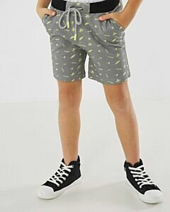Mexx Shorts with grey melee print