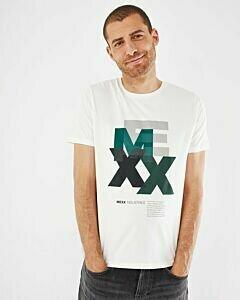 Mexx Men Short Sleeve T-Shirt Off white