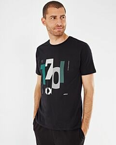 Mexx Men T-Shirt Short Sleeve Black