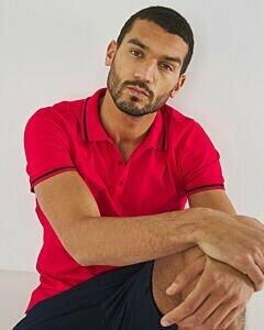 Pique Polo Red