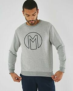 Sweater With Mexx Logo Grey Melee