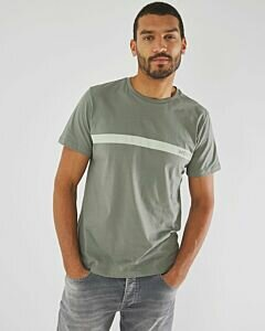 T-shirt-with-photoprint-dark-green