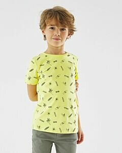Mexx T-shirt with print lime