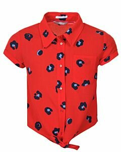 Mexx Red blouse with dots