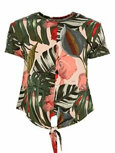 Blouse-with-tropical-print-