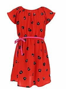 Mexx Red dress with dots