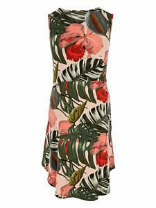 Mexx Dress with tropical print