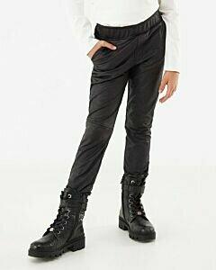 Mexx Girls Imitation Leather tregging Black