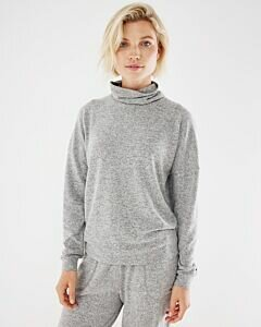 Mexx Sweater cowl neck LS Grey Melee