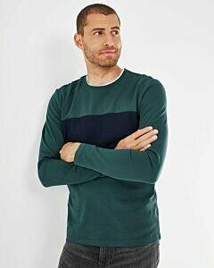 Mexx T-Shirt LS Dark Green