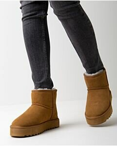 Mexx Ankle Boots High Jane chestnut