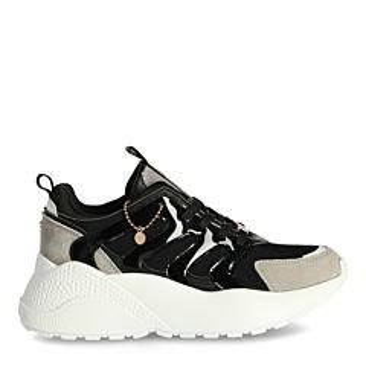 Sneaker-Eliz-Schwarz/Off-white