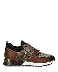 Sneakers-Fenja-Brown/Black/Grey
