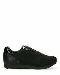 Sneaker Cato Black with black sole