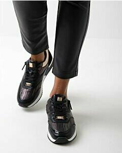 Mexx Women Sneaker Finni black/gold