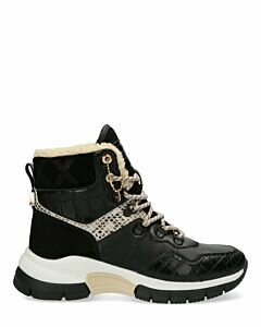 Ankle-Boots-Faylin-Black/Off-white