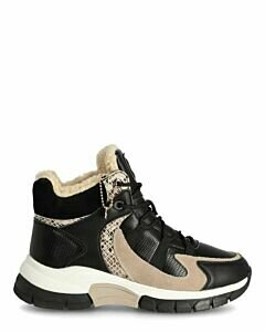 High-Sneakers-Fem-Black/Beige