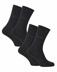 Heren-business-sokken-(2-pack)-donkerblauw