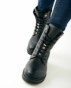 Mexx Holea black lace-up boot