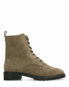 Mexx Heylia lace-up boot taupe suede