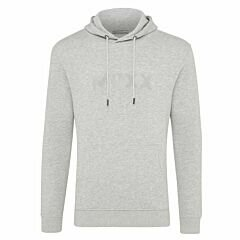 Grey-Melange-Hoody-with-Embroidery-Men