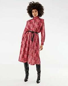 Mexx red printed dress