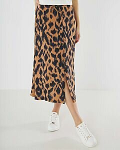 Mexx Skirt With Brown Print