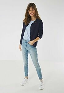 Round neck Cardigan SUSAN Navy