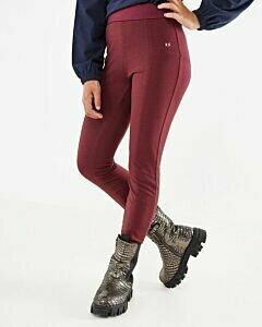 Basic legging Bordeaux Red
