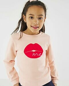 Mexx Sweater with a pink kiss