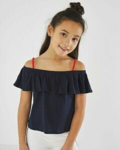 Navy-top-with-spaghettistraps-