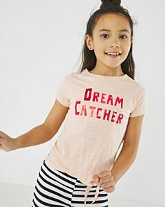 Soft-pink-T-shirt-Dream-Catcher-