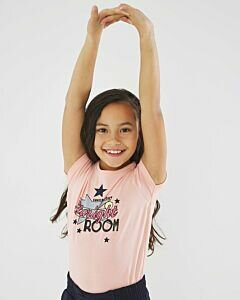 T-shirt-soft-pink-with-starlight-room-print-