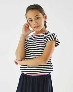 T-shirt-with-navy-stripes-