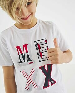 White-T-shirt-with-Mexx-print